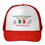 Cocineros italianos gorra
