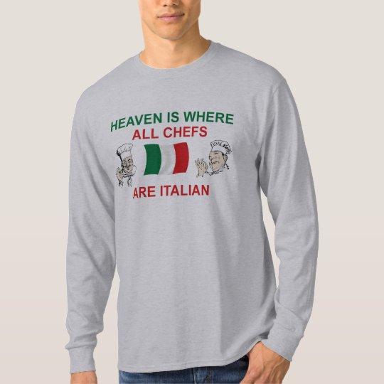 Cocineros italianos playera