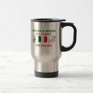 Cocineros italianos tazas