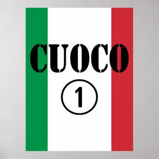 Cocineros italianos: Uno de Cuoco Numero Poster