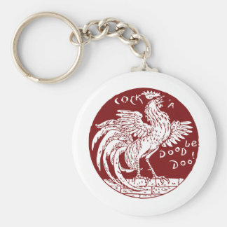 Cock-a-Doodle-Doo Keychains