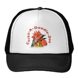 Cock-A-Doodle-Doo Rooster Trucker Hat