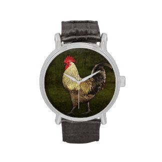 Cock-a-doodle-doo Wristwatch