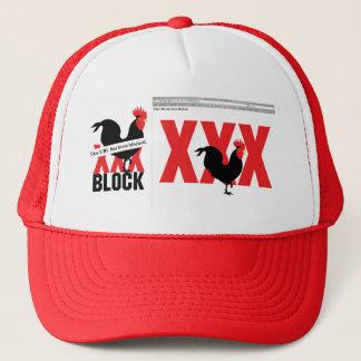 cock-block-2, cock-block-xxx trucker hat