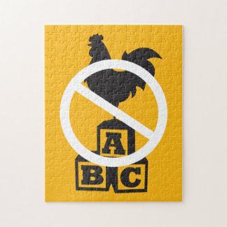 Cock Block Jigsaw Puzzle