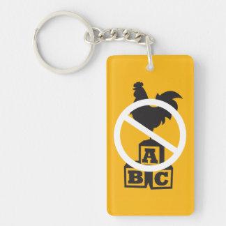 Cock Block Keychain
