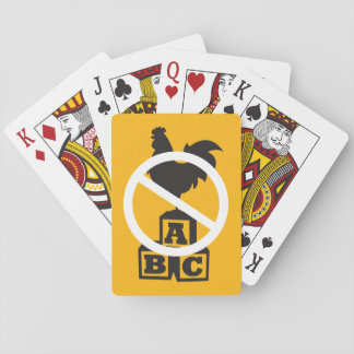 Cock Block Playing Cards