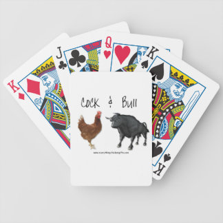 Cock & Bull Playing cards Hilarious!