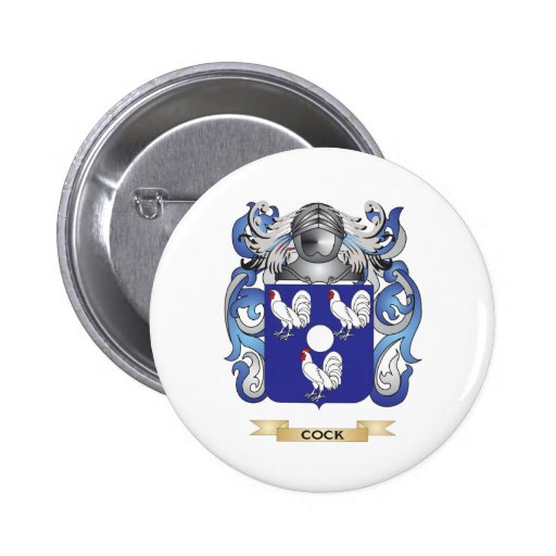 Cock Coat of Arms Pin