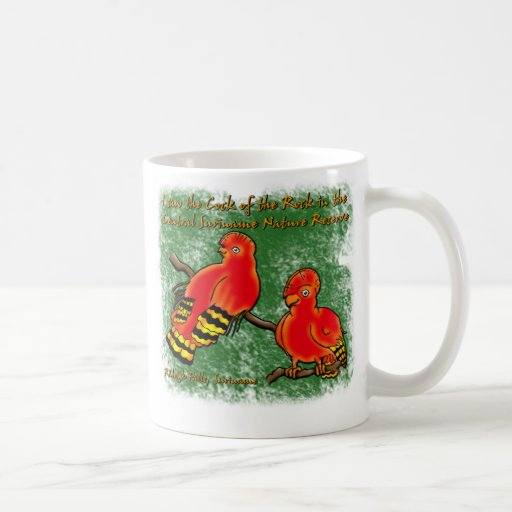 Cock-of-the-Rock at Raleighvallen Suriname Mugs