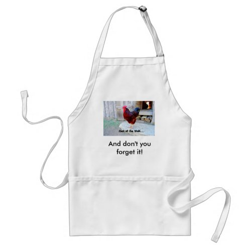 Cock of the Walk Apron