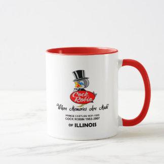 Cock Robin Ice Cream Stores, Chicagoland, Illinois Mug