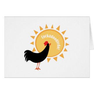 Cockadoodledo! Greeting Card