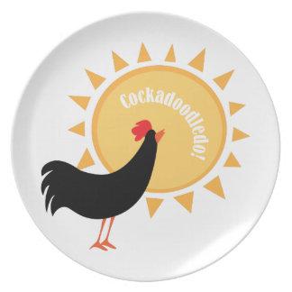 Cockadoodledo! Party Plates