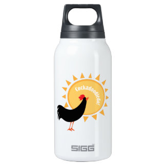 Cockadoodledo! 10 Oz Insulated SIGG Thermos Water Bottle