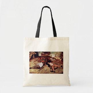Cockaigne por Bruegel D. Ä. Pieter (la mejor calid Bolsas De Mano