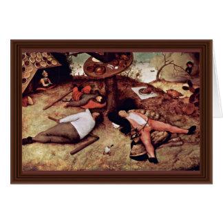 Cockaigne por Bruegel D. Ä. Pieter (la mejor calid Felicitaciones