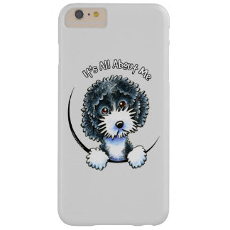 Cockapoo Black Parti IAAM Gray Barely There iPhone 6 Plus Case