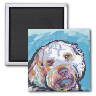 Cockapoo Bright Colorful Pop Dog Art Magnet