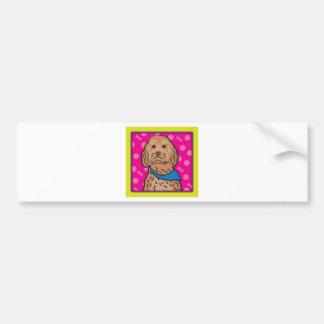 Cockapoo Cartoon Bumper Sticker