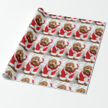 "Cockapoo Christmas Wrapping Paper<br><div class=""desc"">Cockapoo Christmas Wrapping Paper</div>"