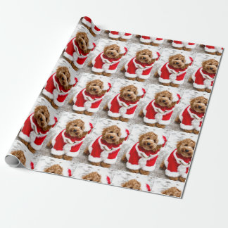 Cockapoo Christmas Wrapping Paper