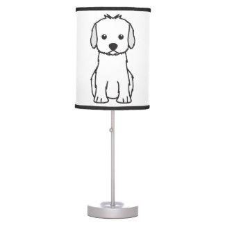 Cockapoo Dog Cartoon Table Lamp