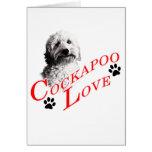 Cockapoo Love Card