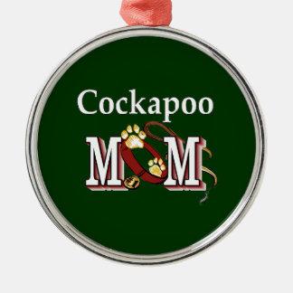 Cockapoo Mom Gifts Metal Ornament