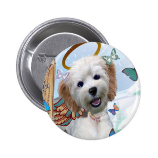 Cockapoo Perfect Angel Merchandise Pinback Buttons