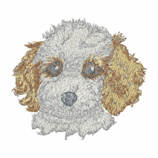 Cockapoo Puppy Embroidered Jacket