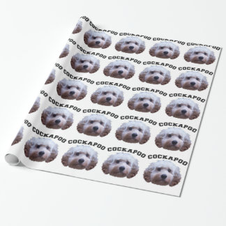 Cockapoo Puppy Wrapping Paper