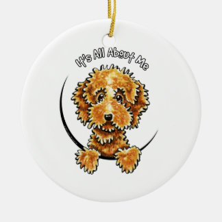 Cockapoo Tan IAAM Ceramic Ornament