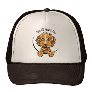 Cockapoo Tan IAAM Trucker Hat