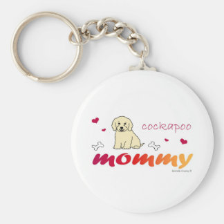 CockapooCrmMommy Keychain
