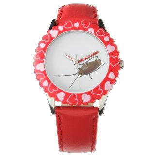Cockaroach Kid's Adjustable Bezel Stainless Steel Watches