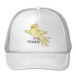 Cockatiel Bird Cap Trucker Hat