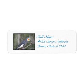 Cockatiel Bird Labels