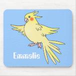 Cockatiel Bird mousepad