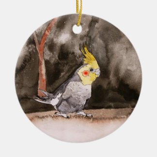 cockatiel bird ornament