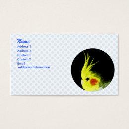Cockatiel Business Card