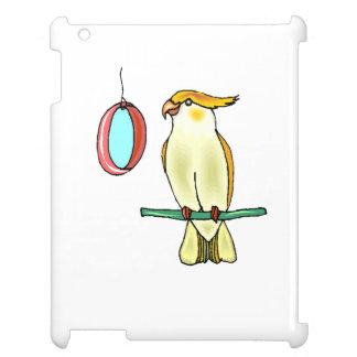 Cockatiel con el espejo