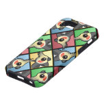 Cockatiel de cuatro colores iPhone 5 Case-Mate funda
