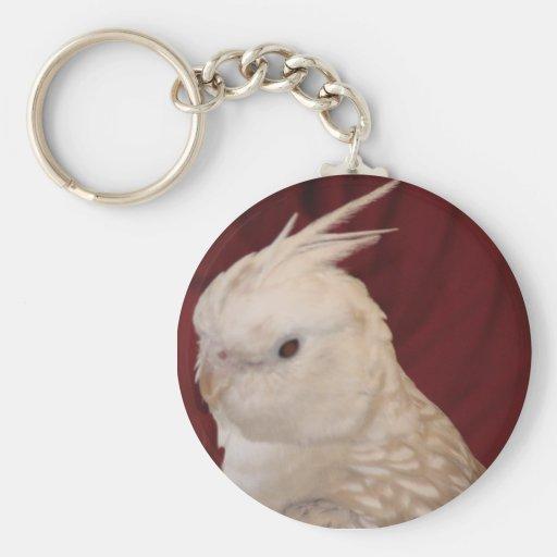 Cockatiel Keychain