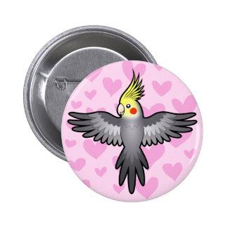 Cockatiel Love Button