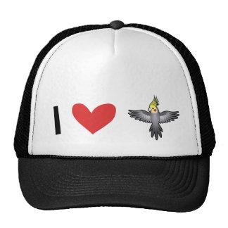 Cockatiel Love Trucker Hat