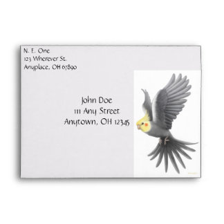 Cockatiel Lovers Envelope