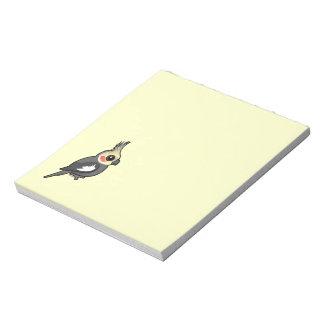 Cockatiel Memo Note Pads