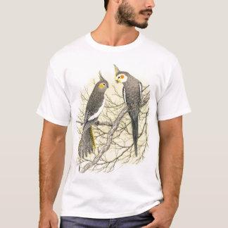 Cockatiel Pair - Nymphicus hollandicus T-Shirt
