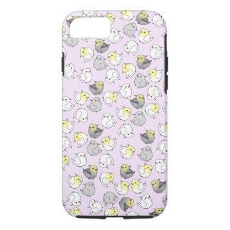 Cockatiel Repeat Pattern Design iPhone 8/7 Case